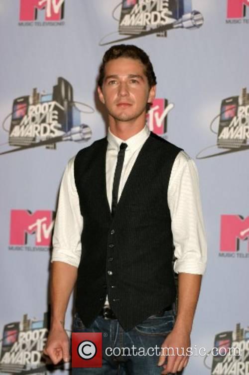 Shia LeBeouf MTV Movie Awards 2007 at the...