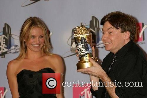 Cameron Diaz, Mike Myers MTV Movie Awards 2007...