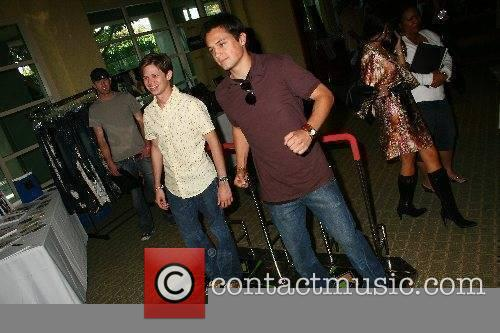 Lee Norris and Stephen Colletti try the popular...