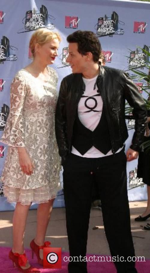 Alice Evans and Ioan Gruffudd '2007 MTV Movie...