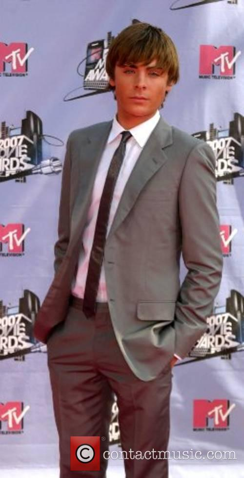 Zac Efron '2007 MTV Movie Awards' at the...