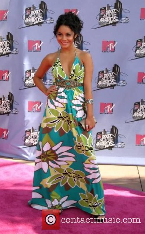 Vanessa Anne Hudgens '2007 MTV Movie Awards' at...