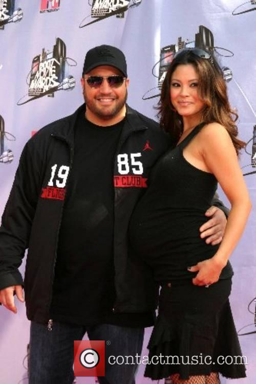 Kevin Smith and wife '2007 MTV Movie Awards'...