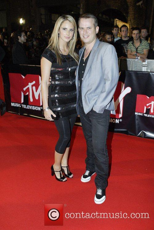 Candice Falzon and guest MTV Australia Awards Sydney,...