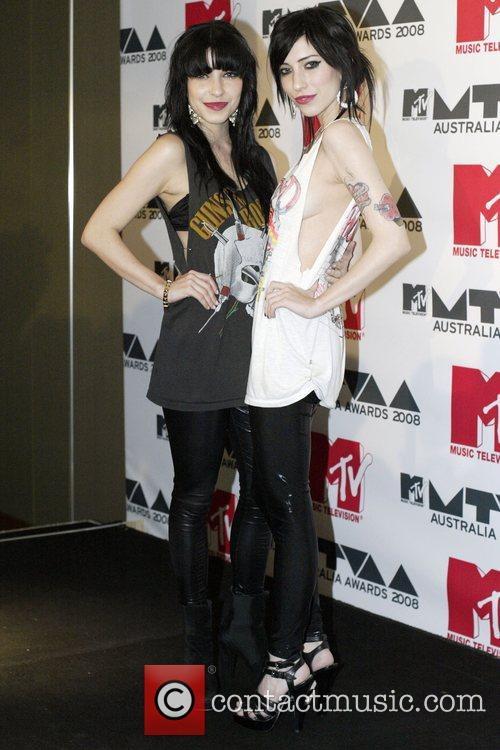 Jess and Lisa Origliasso of The Veronicas MTV...
