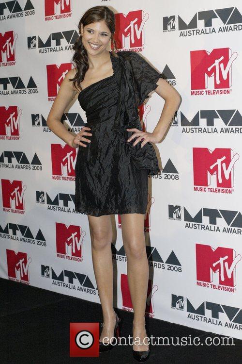 Lyndsey Rodrigues MTV Awards Australia 2008 Photocall Sydney,...