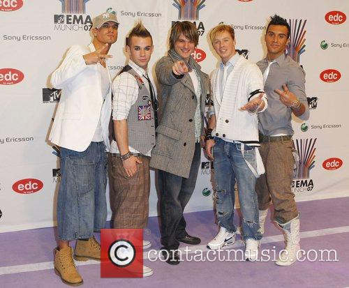 MTV Europe Music Award 2007 at Olympiahalle -...