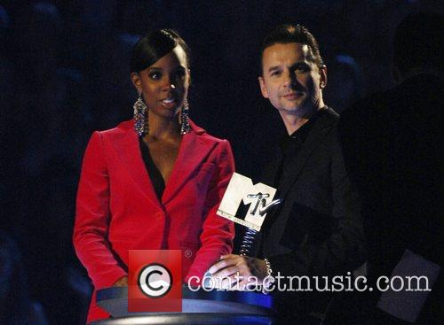 Kelly Rowland and Dave Gahan 1