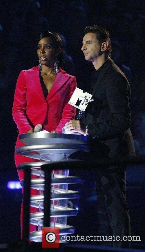 Kelly Rowland and Dave Gahan 2
