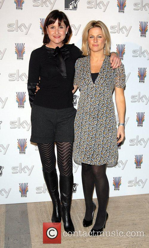 SKY Send Off Party for MTV Europe Music...
