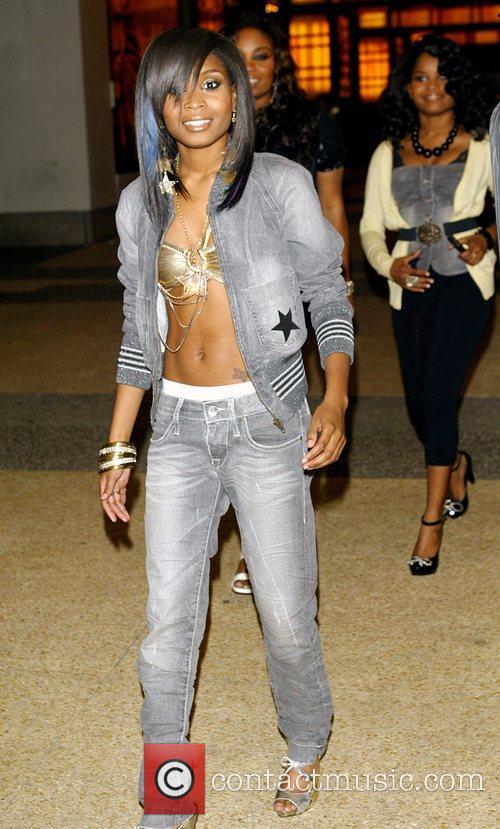Felisha King and R&B quartet 'Cherish'  at...