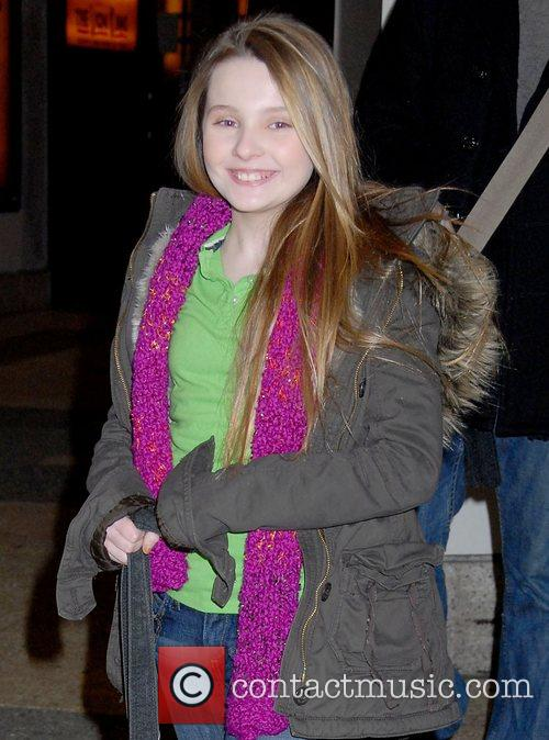 Abigail Breslin, MTV, Mtv Trl Studios and Times Square 3