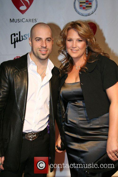 Chris Daughtry and Aretha Franklin 2