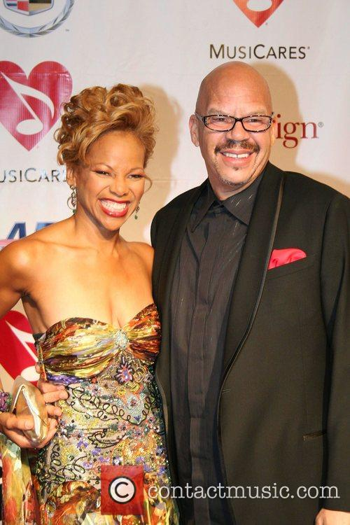 Tom Joyner and Aretha Franklin 8