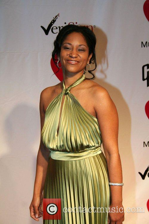 Yamma Brown - MusiCares Honors Aretha Franklin held at LA ...