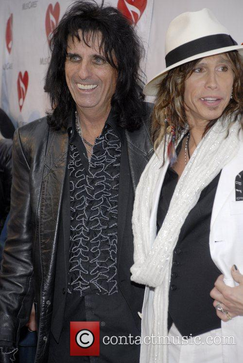 Alice Cooper, Steven Tyler, Henry Fonda Music Box Theatre, Musicares Map Fund Benefit Concert