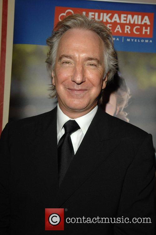 Alan Rickman attending Patrick Doyle's 'Music from the...