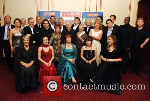 Kenneth Branagh, Alan Rickman, Celia Imrie, Derek Jacobi, Emma Thompson, Imelda Staunton, Judi Dench and Robbie Coltrane 1