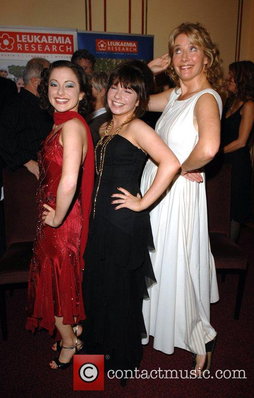 Abigail Doyle, Nula Doyle and Emma Thompson attending...