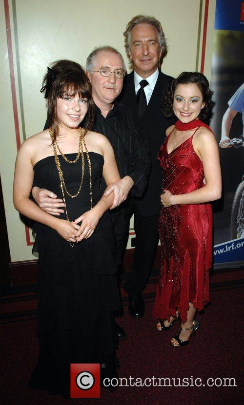 Nula Doyle, Patrick Doyle, Alan Rickman and Abigail...