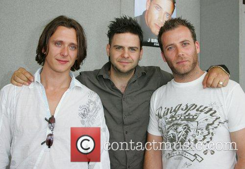 Richie, Scott and Jason from 5ive * FALLEN...