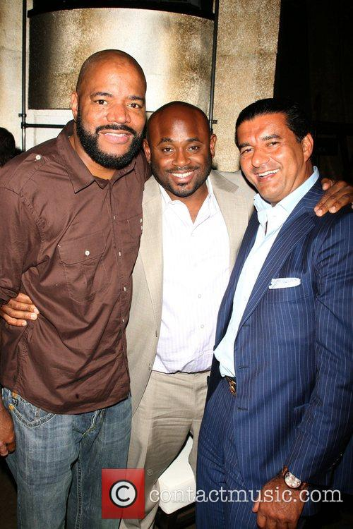 Ed Lover, Steve Stoute and Jacob the jewler...