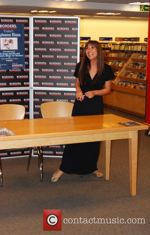 Myleene Klass At her book signing session at...