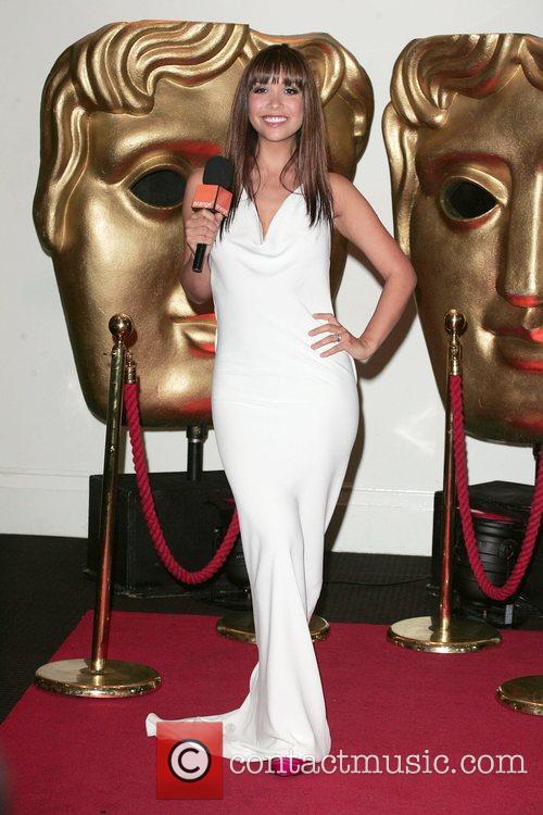Myleene Klass at the British Academy of Film...