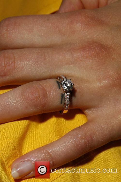 Kristanna Loken (tattoo underneath her ring) MylifE Charity...