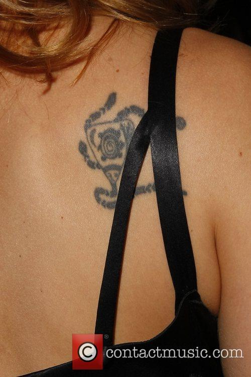 Kristanna Loken tattoo MylifE Charity Dinner & Fashion...
