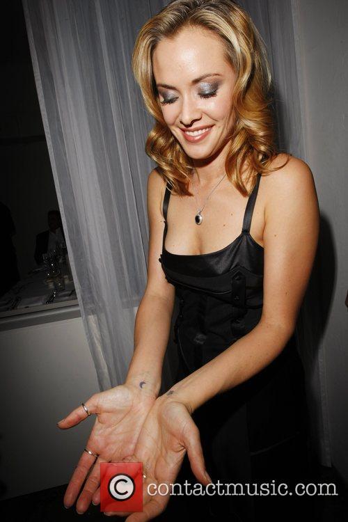 Kristanna Loken tattoos MylifE Charity Dinner & Fashion...