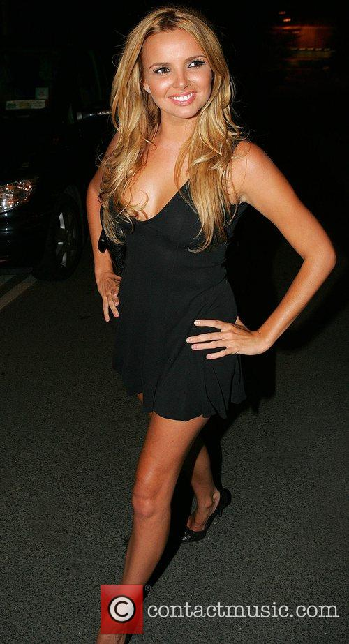 Nadine Coyle of Girls Aloud leaves the RTE...