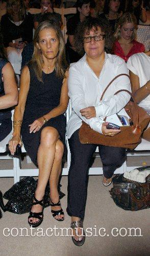 Ingrid Sischy and Sandy Brant Mercedes-Benz Fashion Week...