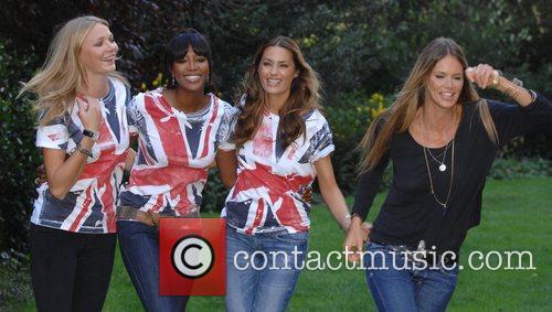 Jodie Kidd, Naomi Campbell, Yasmin LeBon and Elle...