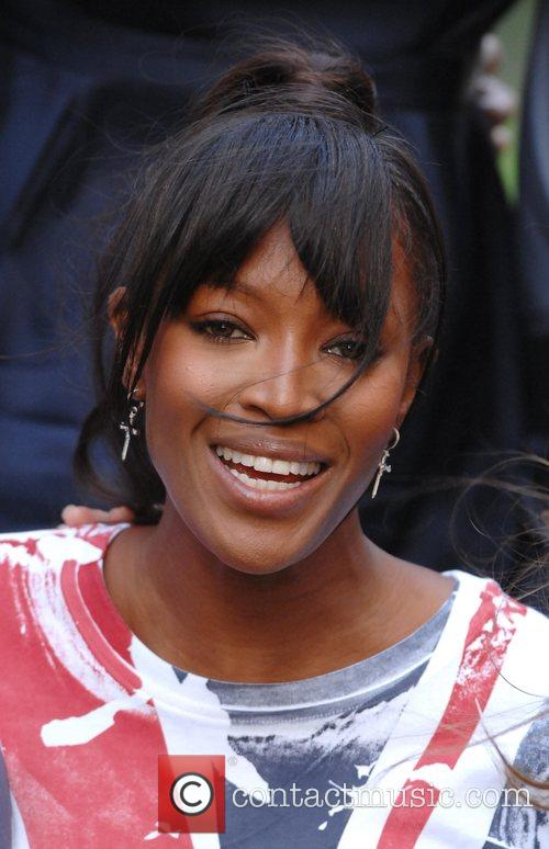 Naomi Campbell Photocall to launch 'Fashion For Relief'...