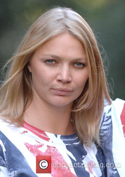 Jodie Kidd Photocall to launch 'Fashion For Relief'...