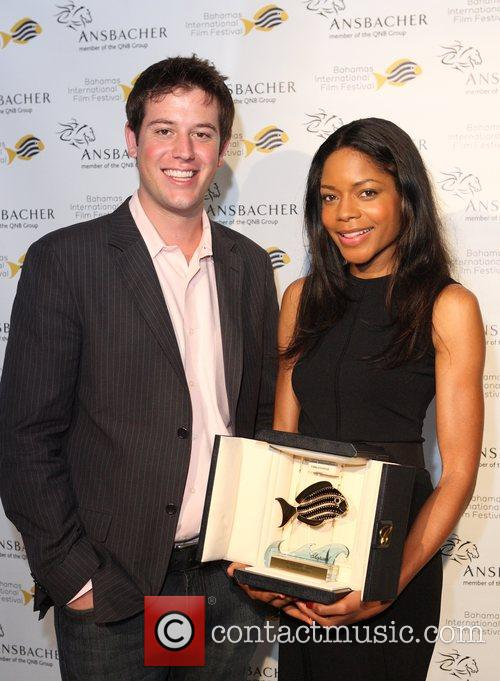 Naomie Harris was presented with the 'Rising Star...