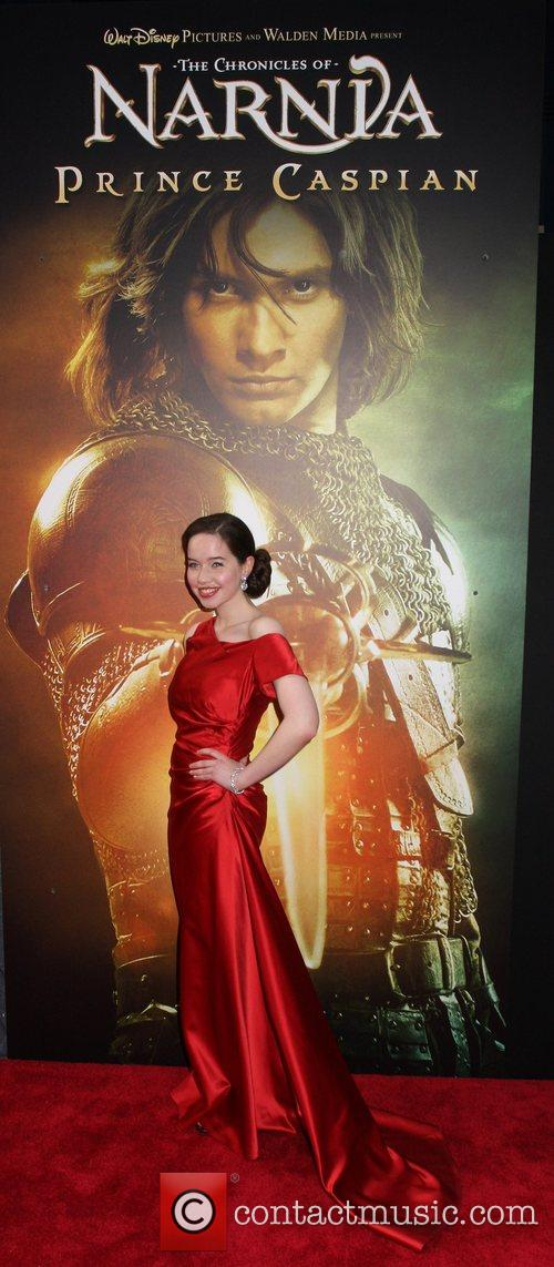 Anna Popplewell Chronicles of Narnia: Prince Caspian NYC...