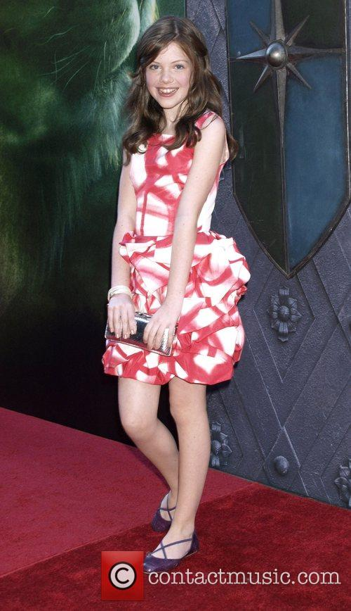 Georgie Henley New York premiere of 'The Chronicles...