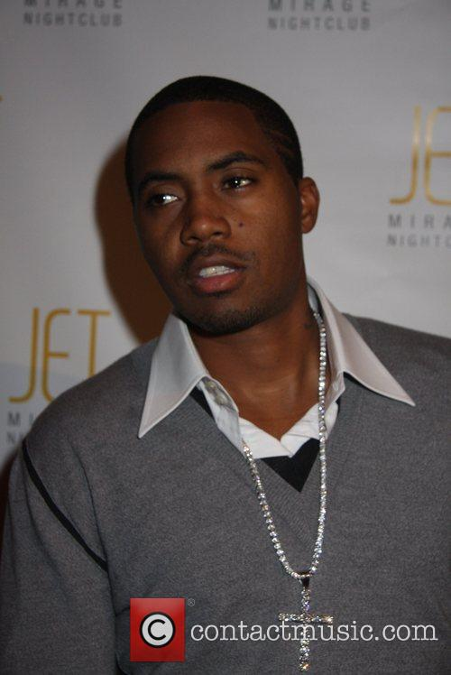 Rapper Nas Makes An Appearance At JET Nightclub