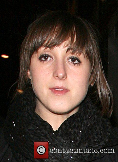 Natalie Cassidy leaving Balans restaurant in Soho at...
