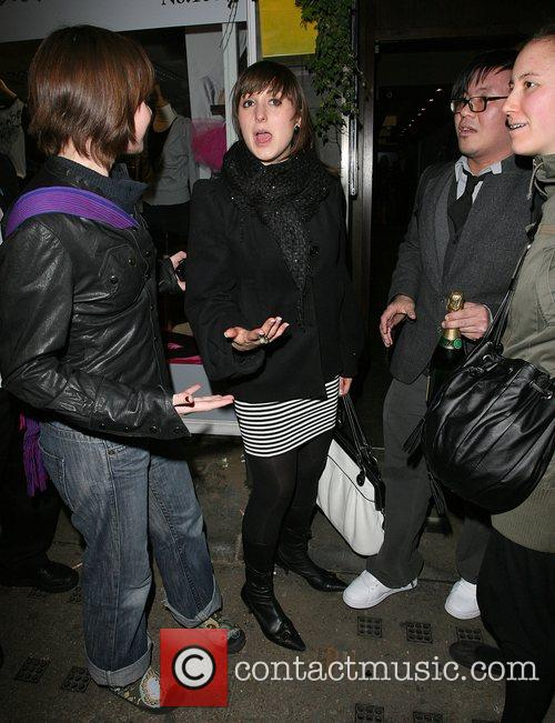 Natalie Cassidy and Tamarai Restaurant 5