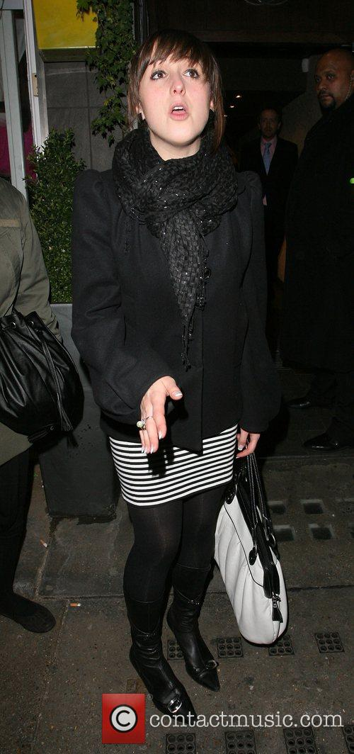 Natalie Cassidy and Tamarai Restaurant 4