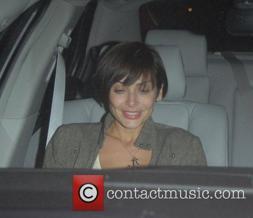Natalie Imbruglia leaving Villa Lounge nightclub Hollywood, California