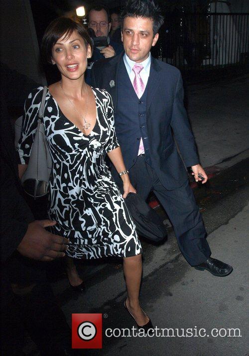 Natalie Imbruglia leaving Villa Lounge Hollywood, California