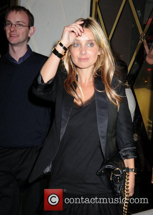 Louise Redknapp leaving The Pigalle Club London, England