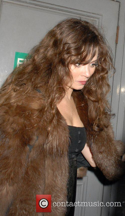 Anna Friel leaving The Pigalle Club