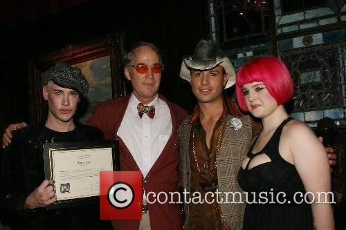 Heatherette receives a citation of honor and fashion...