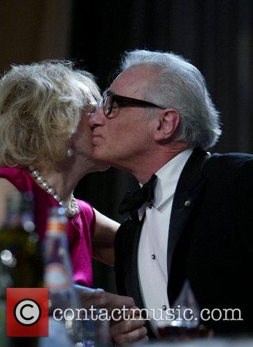 Mary Margret Valenti and Martin Scorcese  The...