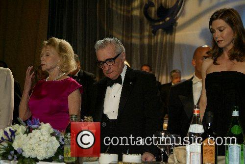 Mary Margret Valenti,Martin Scorcese and Ellen Pompeo The...